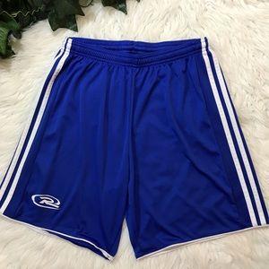 Adidas Tastigo Blue White Long climacool Shorts